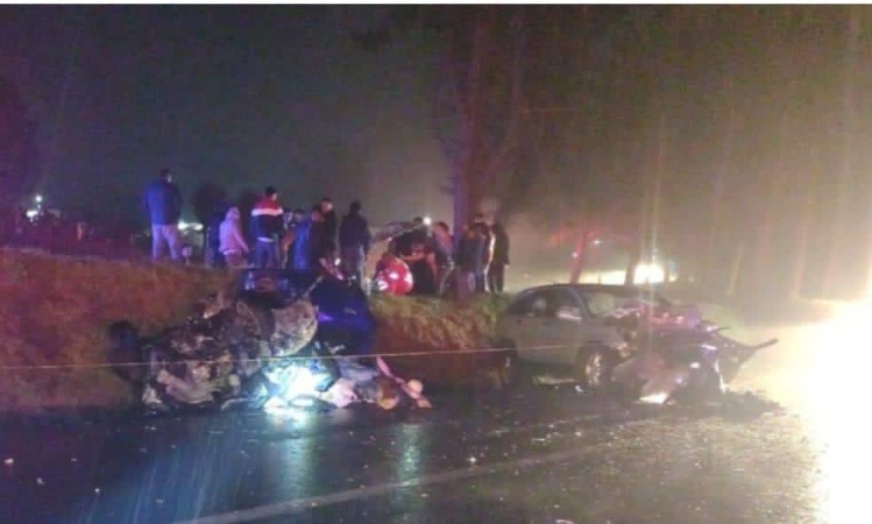 Un muerto y lesionados deja accidente en la México-Tuxpan