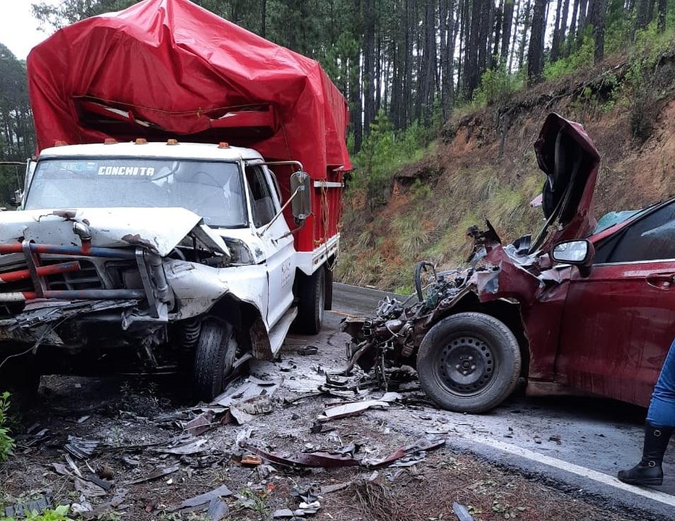 Fatal accidente en la federal Chignahuapan-Aquixtla, reportan un muerto