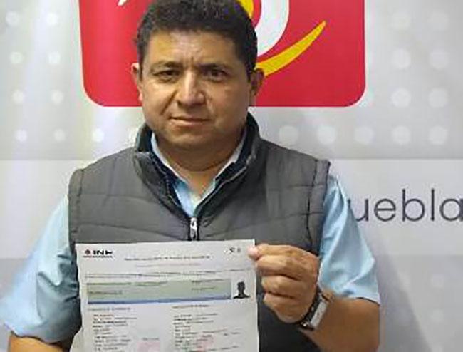 Adán Pasten busca debate entre candidatos a edil en Cuautlancingo