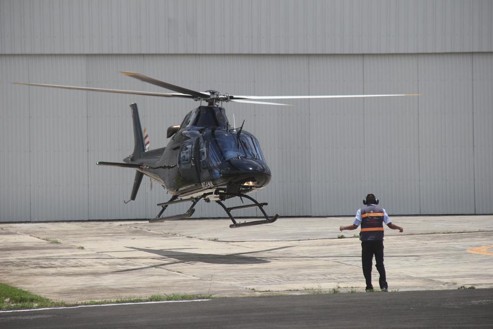 Anuncia Barbosa renta de drones y helicópteros para seguridad