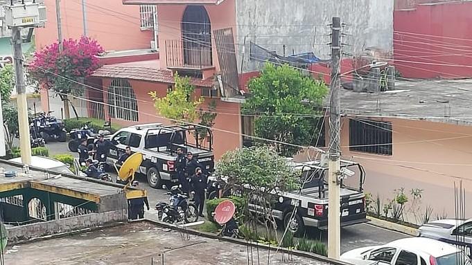 A disparos y con heridos termina riña en Huauchinango