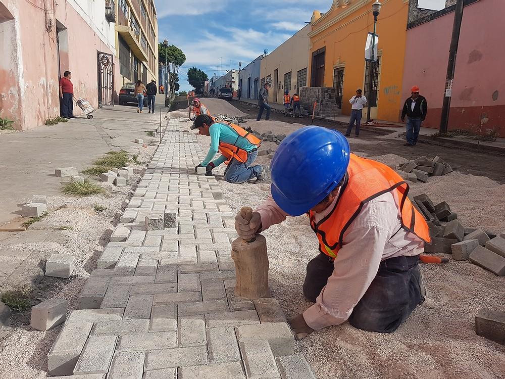 Obras en Centro Histórico no afectarán a comerciantes: Rivera Vivanco
