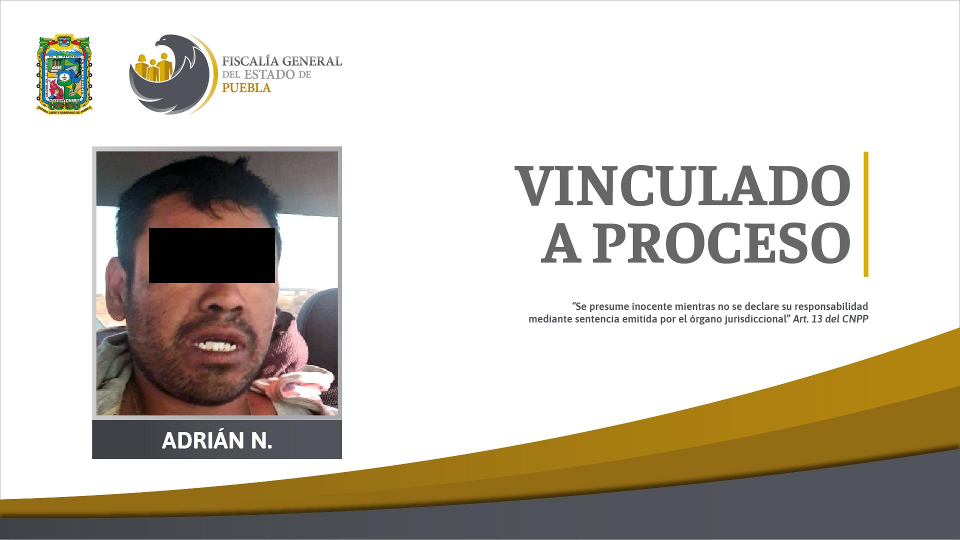 Adrián mató a su pareja porque la halló platicando con su abuelo en Coronango