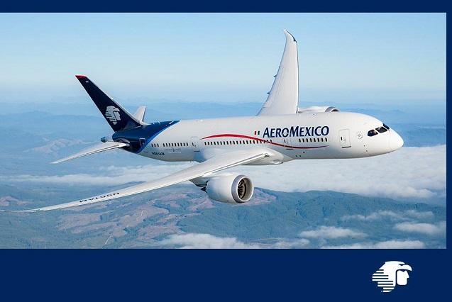 Aeroméxico pide apoyo financiero a aerolínea canadiense