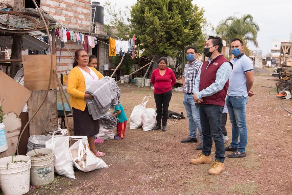 Protección Civil de Cholula recorre zonas afectadas por lluvias