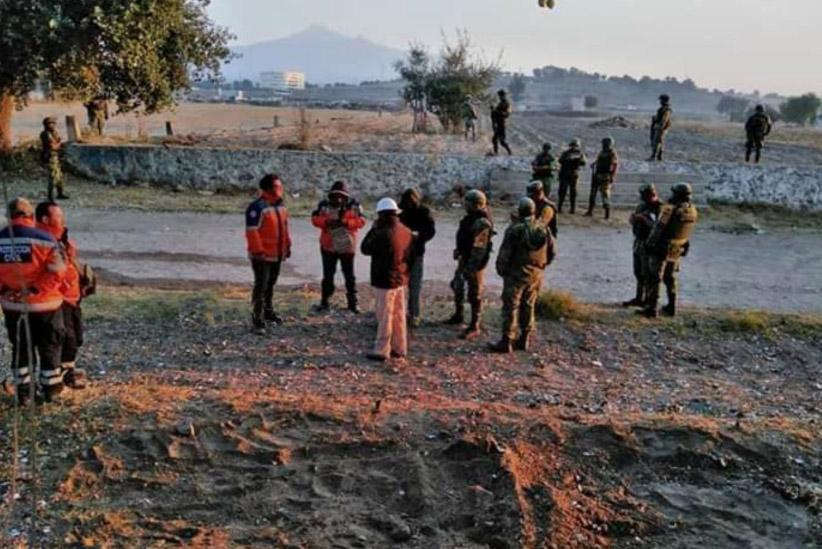 Controlan fuga de gas LP en toma clandestina de Amozoc