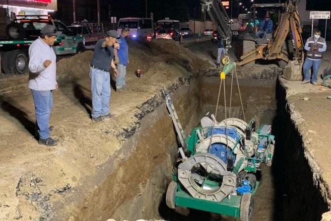 Recortan servicio de agua en 12 colonias por obras en Acuaférico