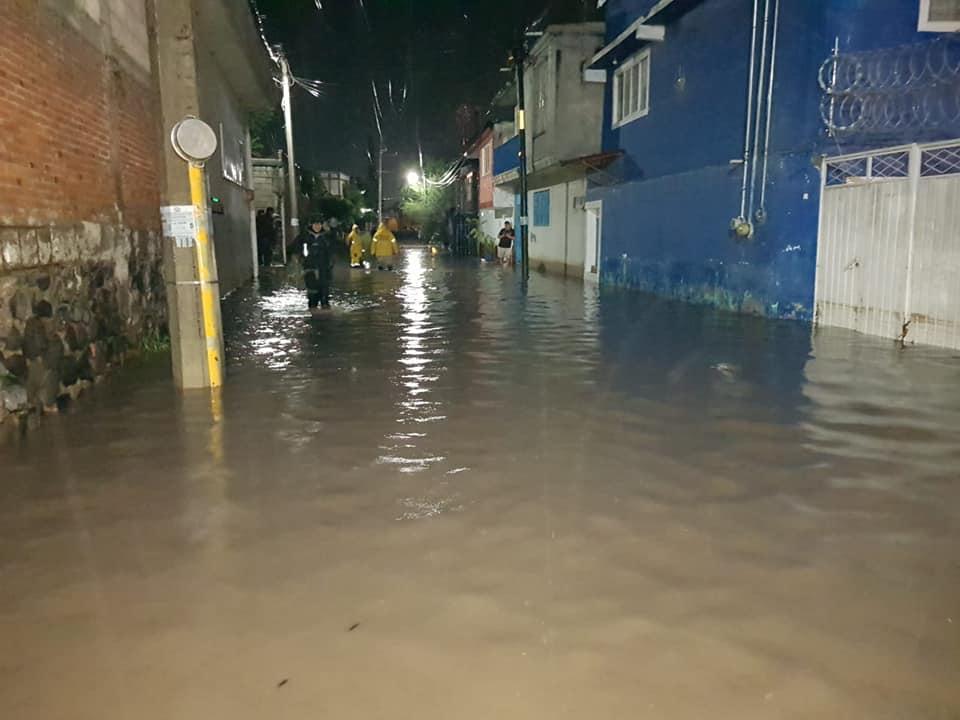 Lluvias siguen dejando afectaciones en la Mixteca poblana