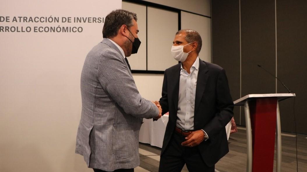 Directores de Audi y Ciudad Modelo se reúnen en San José Chiapa
