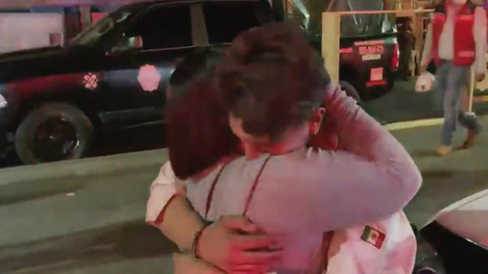 VIDEO Me aventé por la puerta: sobreviviente de colapso en Línea 12