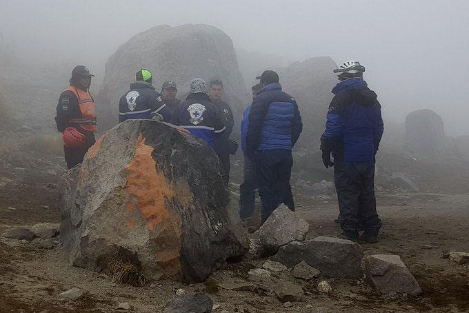 Muere un alpinista y otro está herido en el Citlaltépetl