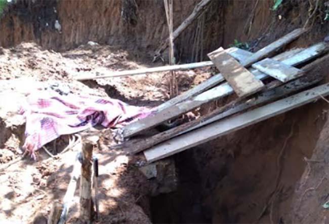 Muere albañil sepultado por alud en Huauchinango