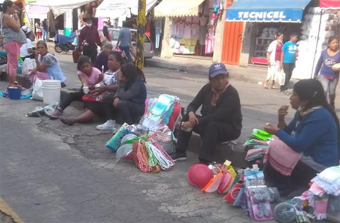 Tianguistas de Atlixco podrían tomar de manera pacífica el mercado