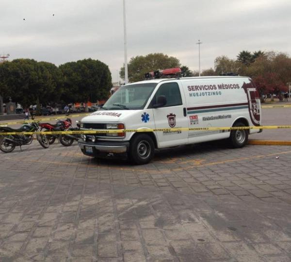 Mujer muere dentro de ambulancia en Huejotzingo