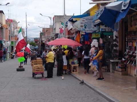 En Tehuacán creció el Covid-19 y el ambulantaje