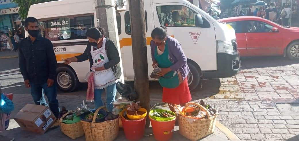 Ambulantaje crece 80 por ciento pese a Covid19 en Tehuacán