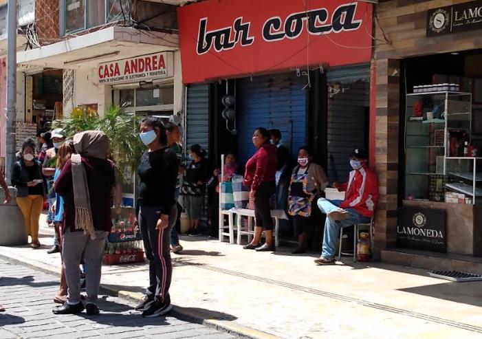 Se coordinan áreas contra instalación de ambulantes en Tehuacán