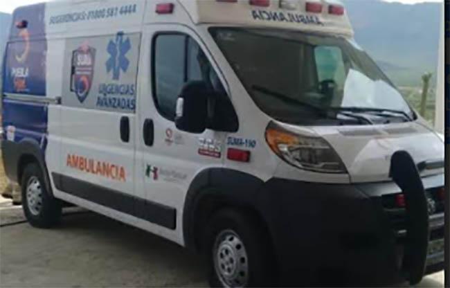 Ajalpan podría quedarse sin el servicio de ambulancia de SUMA