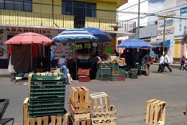 Buscarán ambulantes de Tehuacán proyecto con edil para reiniciar ventas