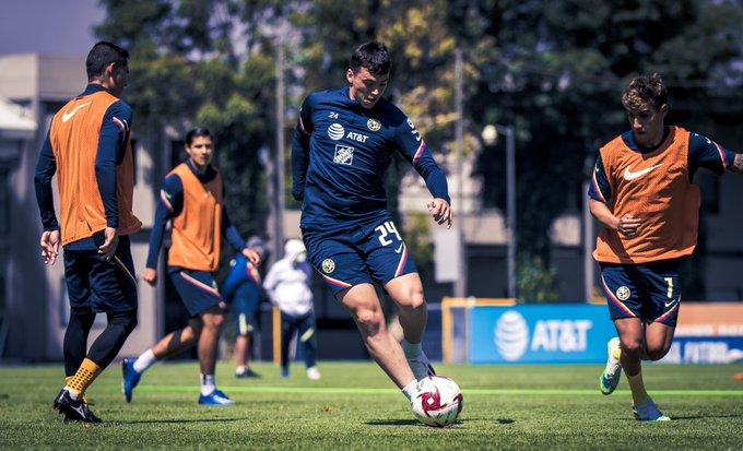 El Club América registra 2 casos positivos de Covid-19
