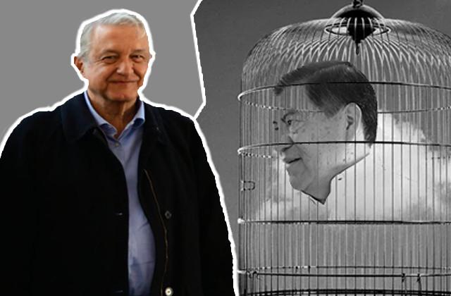 Niega AMLO ser tapadera de Mario Marín