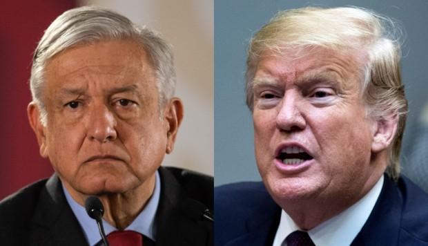 Trump se solidarizó con AMLO ante hechos de Culiacán
