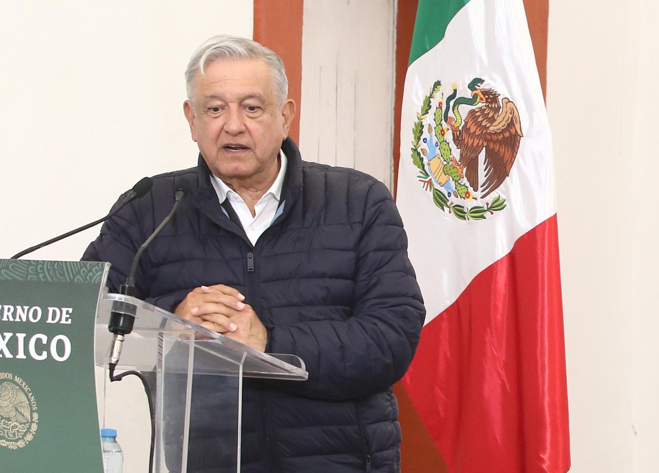 Denuncian campesinos que AMLO los ignoró en su visita a Puebla