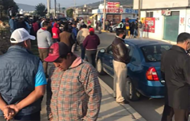 Exigen anulación de elección para alcalde en Amozoc