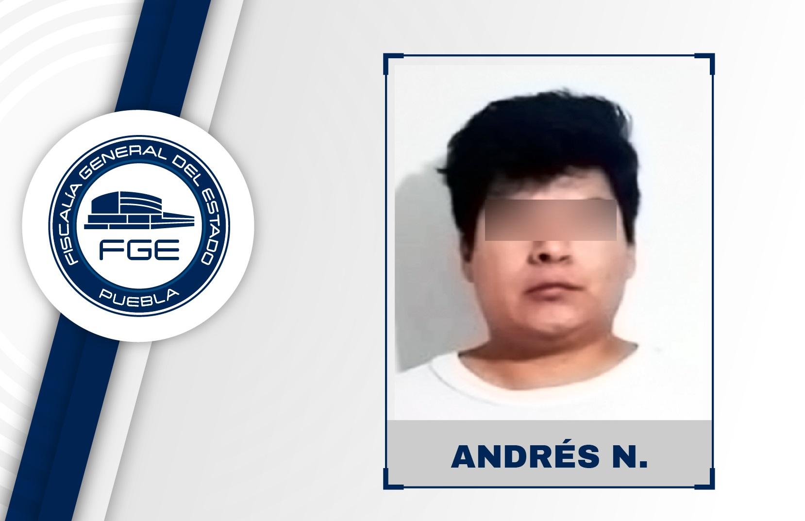 Andrés abusó de una menor de 12 años en Cuautlancingo