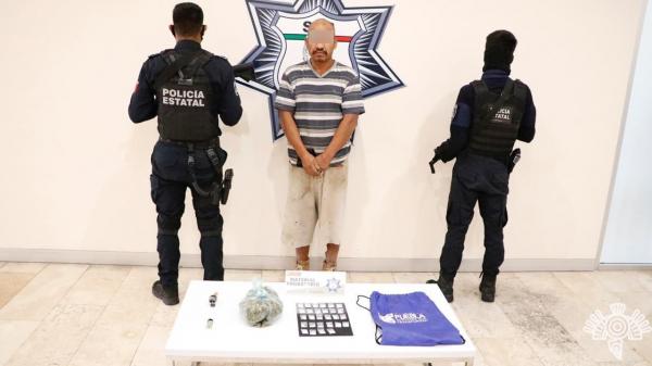 Cae El Pelón en Atlixco; fue procesado en EU por posesión de droga