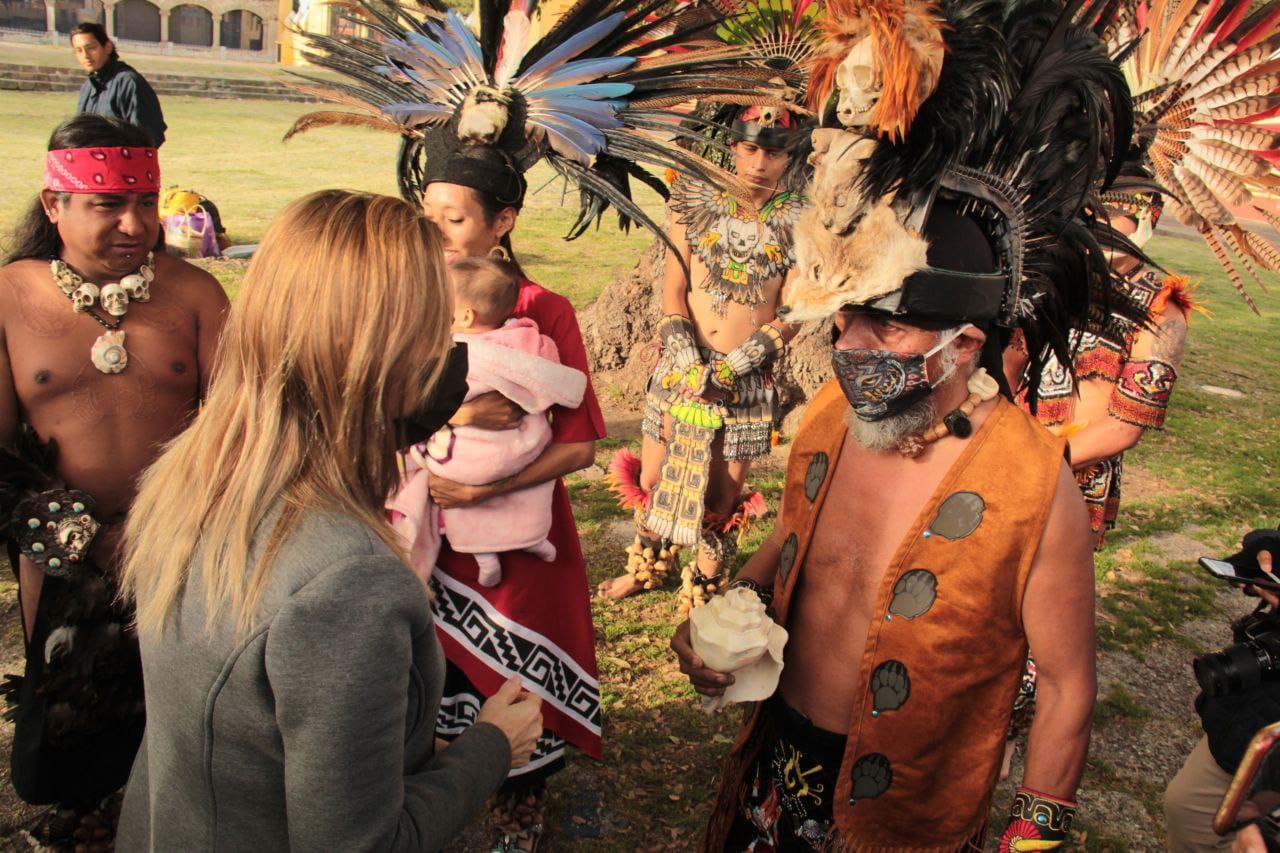 Angon conmemora 502 aniversario de la Matanza de Cholula