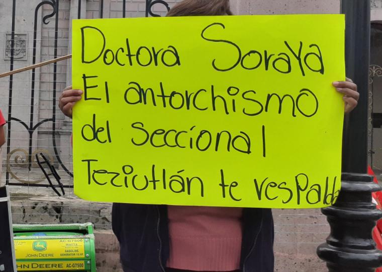 Líderes antorchistas en Teziutlán piden cese de persecución