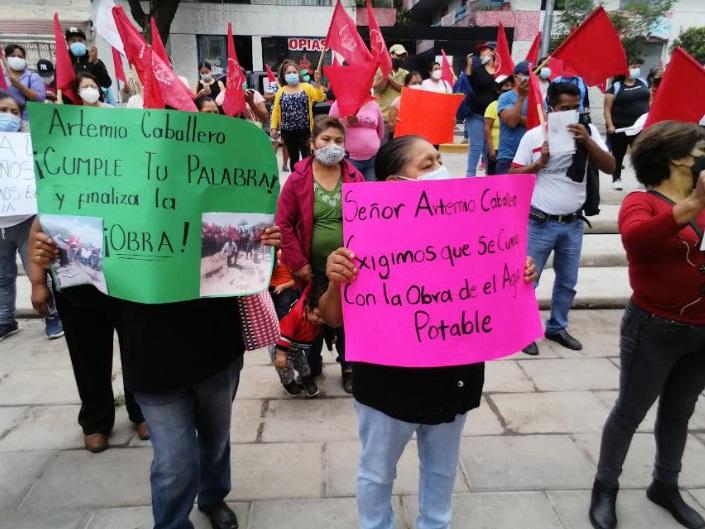 Antorcha acusa de mentiroso a presidente de Tehuacán