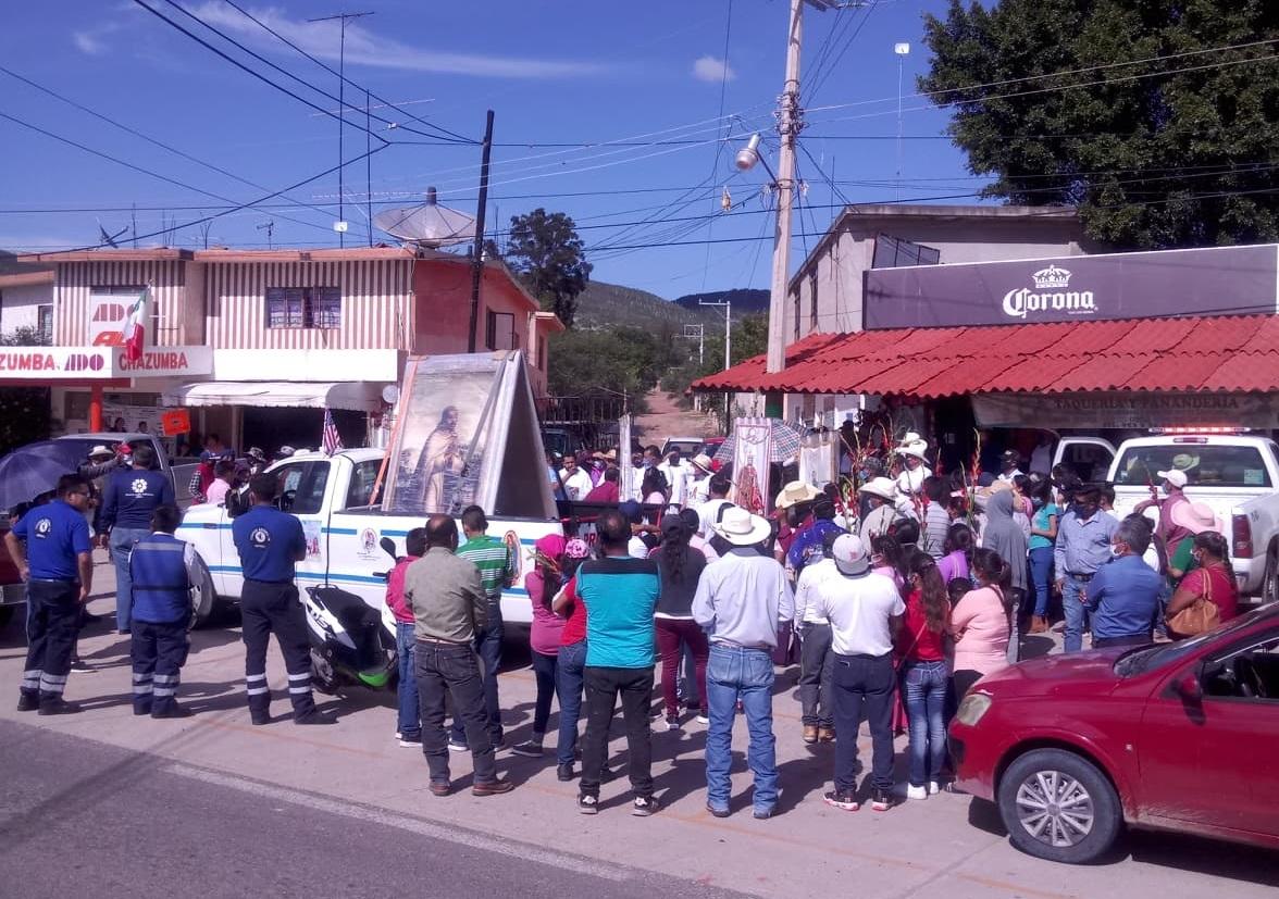 Llega la Antorcha Guadalupana a la Diócesis de Tehuacán