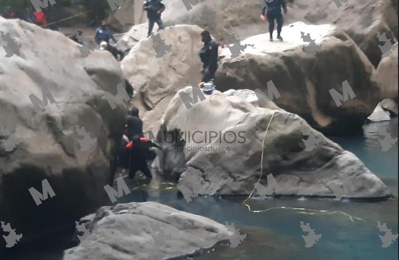 Muere ahogado adolescente en cascadas de Aquixtla