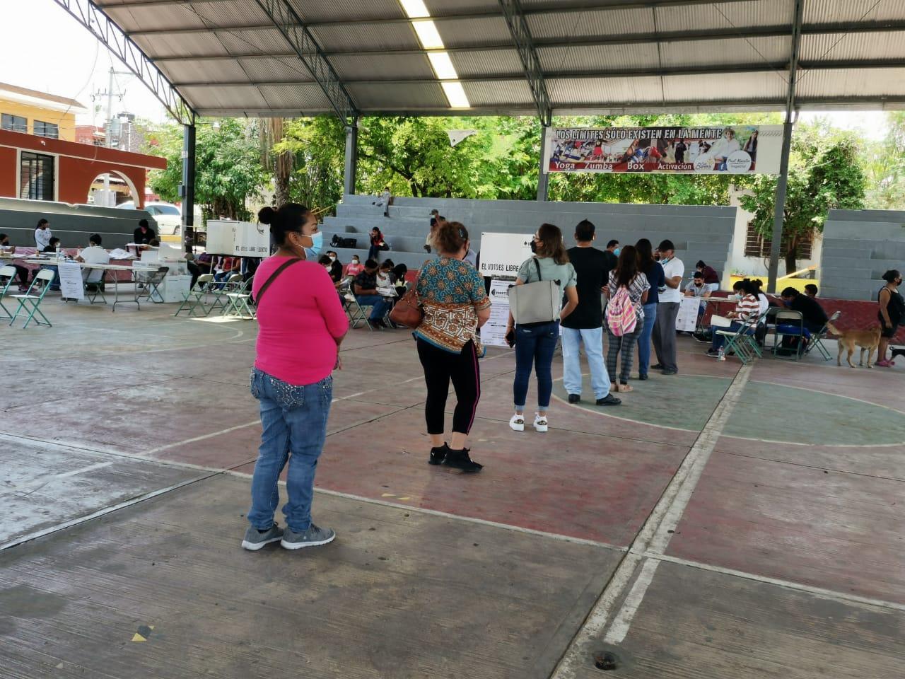 Elecciones tranquilas se efectuaron en Izúcar pese a retraso de apertura de casillas