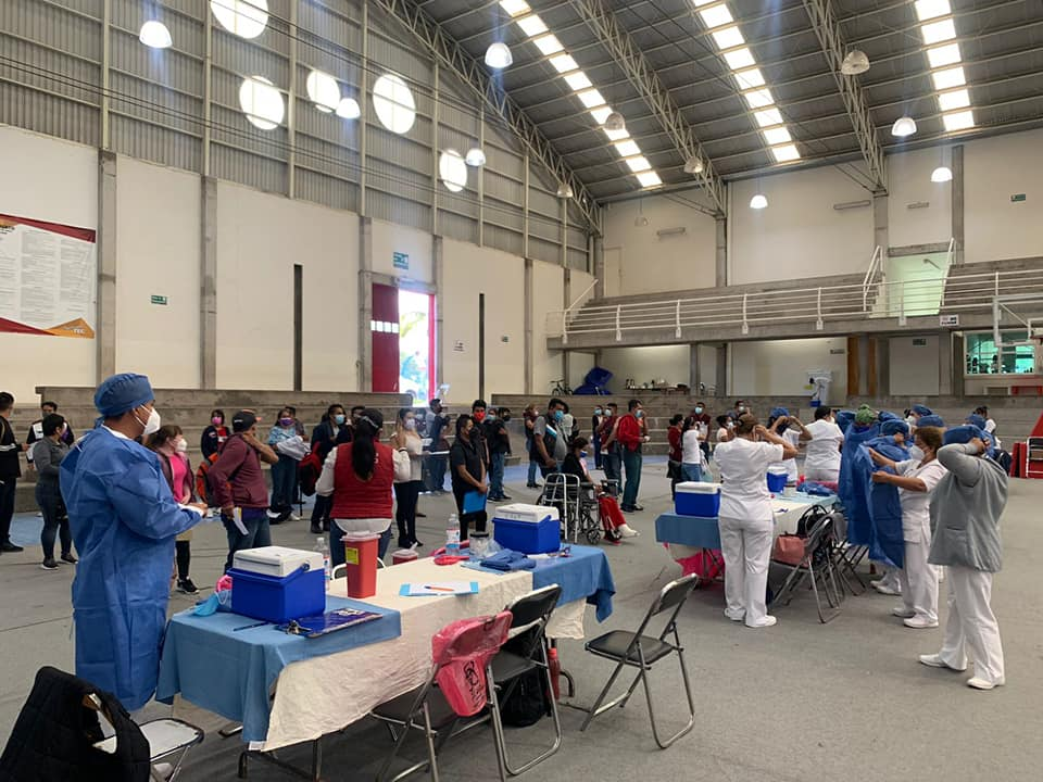 En Tehuacán 205 mil habitantes ya cuentan con esquema completo de vacunación