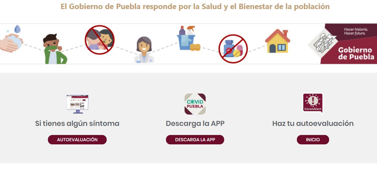 Presentan plataformas digitales para diagnosticar coronavirus en Puebla