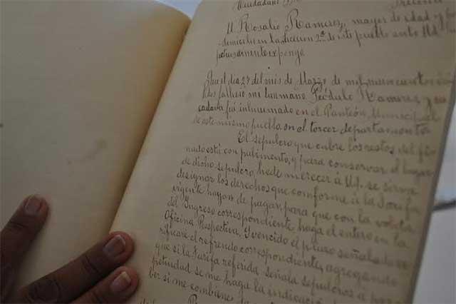 Carece Izúcar de archivo histórico municipal completo