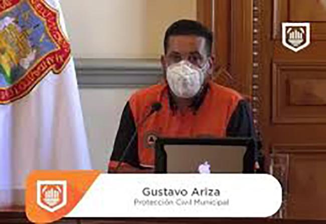 Hay siete trabajadores del Ayuntamiento de Puebla con Covid-19