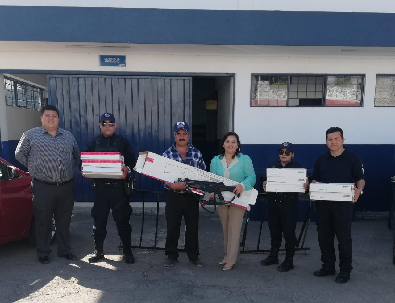 Consigue Cañada Morelos licencia de armas para sus policías