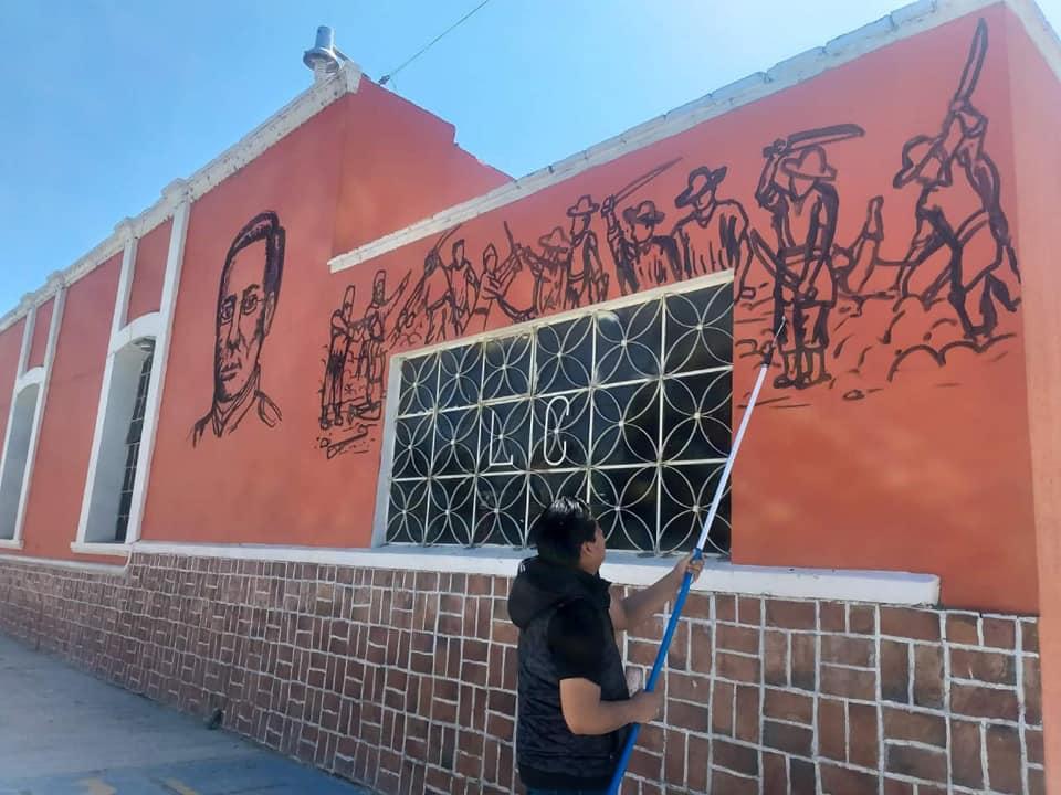 Cuando acabe la pandemia artista de Acatzingo inaugurará mural de 50 metros