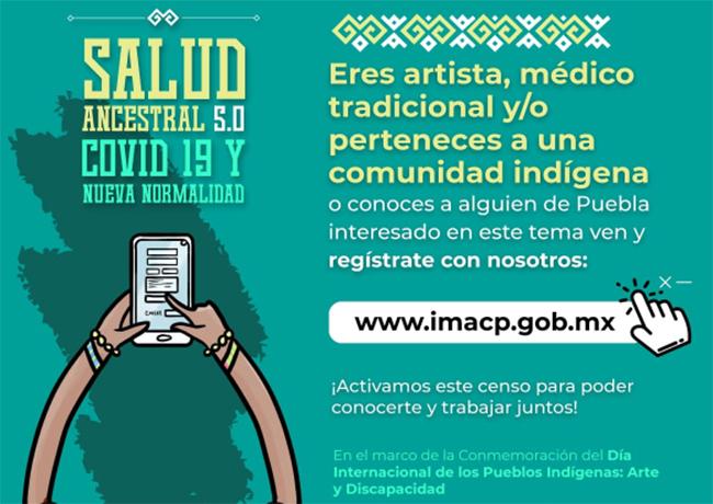 Puebla realizará censo virtual a indígenas sobre necesidades en materia cultural