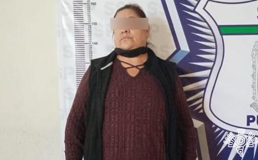 Detienen a presuntos asaltantes de negocio en Texmelucan