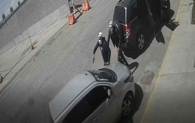 VIDEO Así escapó mujer de ser asaltada en calles de Cuautlancingo
