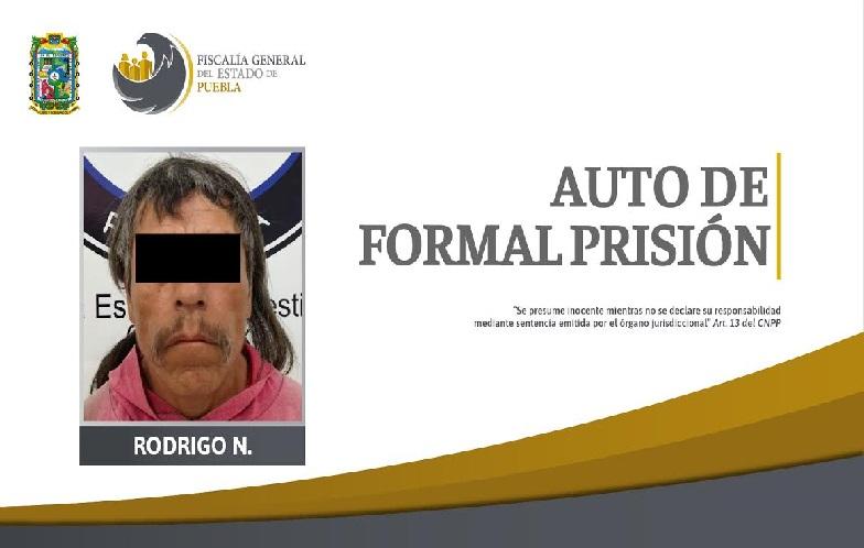 Rodrigo ayudó en el asesinato de una pareja en Huaquechula