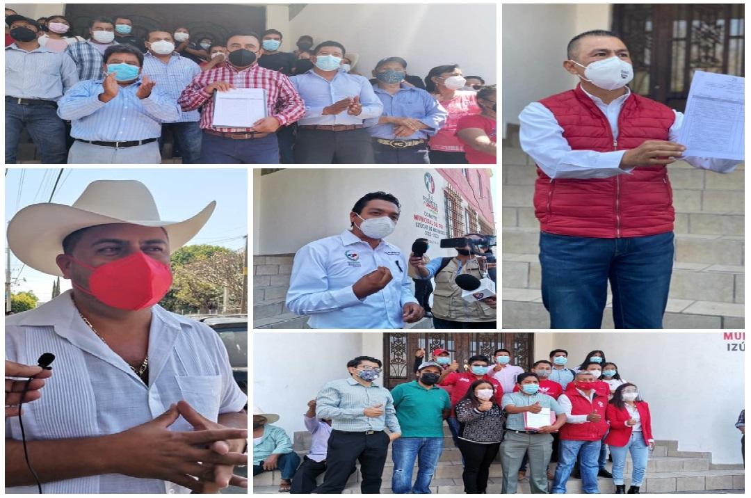 Ellos son los aspirantes del PRI a las alcaldías de la región de Izúcar