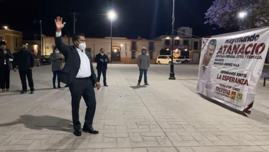 Sin propuesta Morena arranca campaña en Puebla desde Amozoc