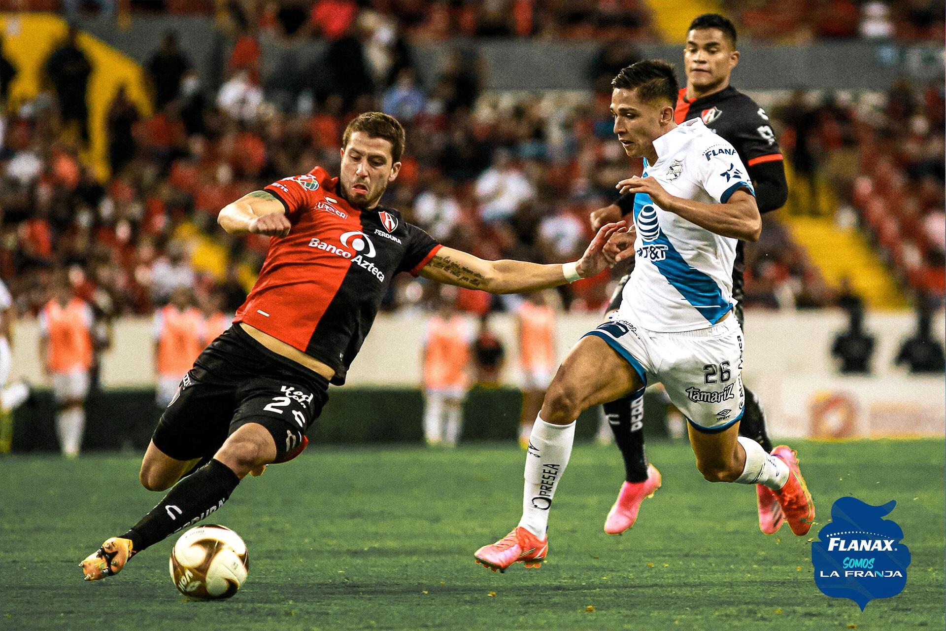 Atlas le pega al Puebla en cuartos de final del Guardianes 2021
