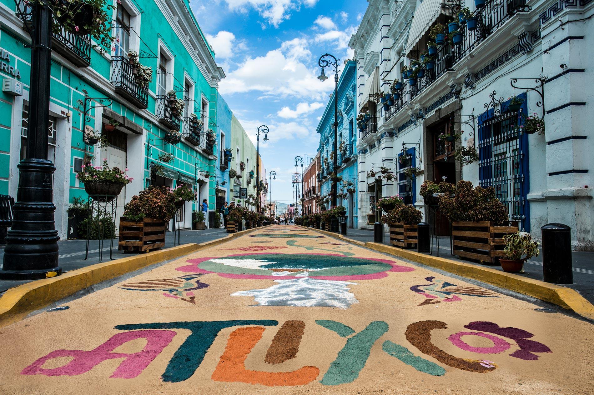 Feria cultural y gastronómica de Pueblos Mágicos en Atlixco